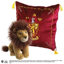 NOBLE COLLECTIONS HARRY POTTER GRYFFINDOR MASCOT PLUSH CUSHION PELUCHE CUSCINO GRIFONDORO
