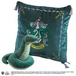 HARRY POTTER SLYTHERIN MASCOT PLUSH CUSHION PELUCHE CUSCINO SERPEVERDE NOBLE COLLECTIONS