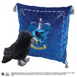 NOBLE COLLECTIONS HARRY POTTER RAVENCLAW MASCOT PLUSH CUSHION PELUCHE CUSCINO CORVONERO
