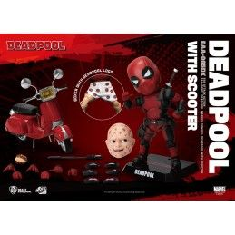 MARVEL DEADPOOL DELUXE VERSION EGG ATTACK ACTION FIGURE BEAST KINGDOM