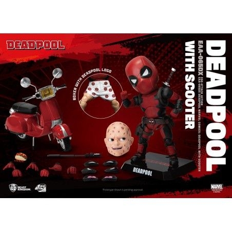 MARVEL DEADPOOL DELUXE VERSION EGG ATTACK ACTION FIGURE