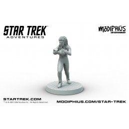MODIPHIUS ENTERTAINMENT STAR TREK ADVENTURES - THE NEXT GENERATION THE BRIDGE CREW FIGURE