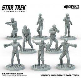 MODIPHIUS ENTERTAINMENT STAR TREK ADVENTURES - THE NEXT GENERATION ROMULAN STRIKE TEAM FIGURE