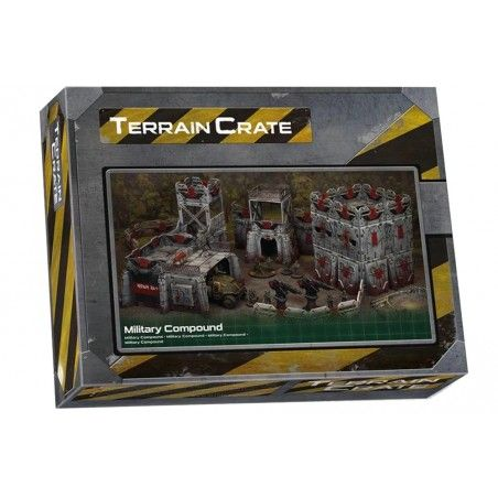 TERRAIN CRATE - MILITARY COMPOUND SET MODEL KIT