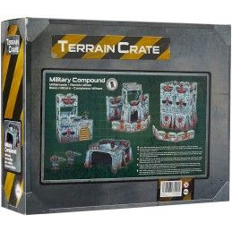 MANTIC TERRAIN CRATE - MILITARY COMPOUND SET MODEL KIT
