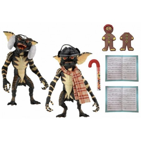 GREMLINS CHRISTMAS CAROL 2 PACK SET ACTION FIGURE