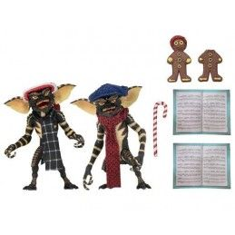 GREMLINS CHRISTMAS CAROL 2 PACK SET 2 ACTION FIGURE NECA