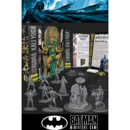 BATMAN MINIATURE GAME - KOBRA KALI YUGA BAT BOX MINI RESIN STATUE FIGURE KNIGHT MODELS