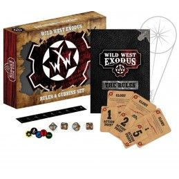 WARCRADLE STUDIOS WILD WEST EXODUS RULES AND GUBBINS SET