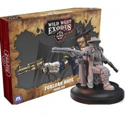 WARCRADLE STUDIOS WILD WEST EXODUS FORLON HOPE POSSE SET RESIN MINIATURES