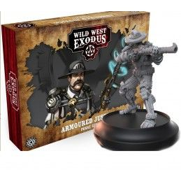 WILD WEST EXODUS ARMOURED JUSTICE POSSE SET RESIN MINIATURES WARCRADLE STUDIOS