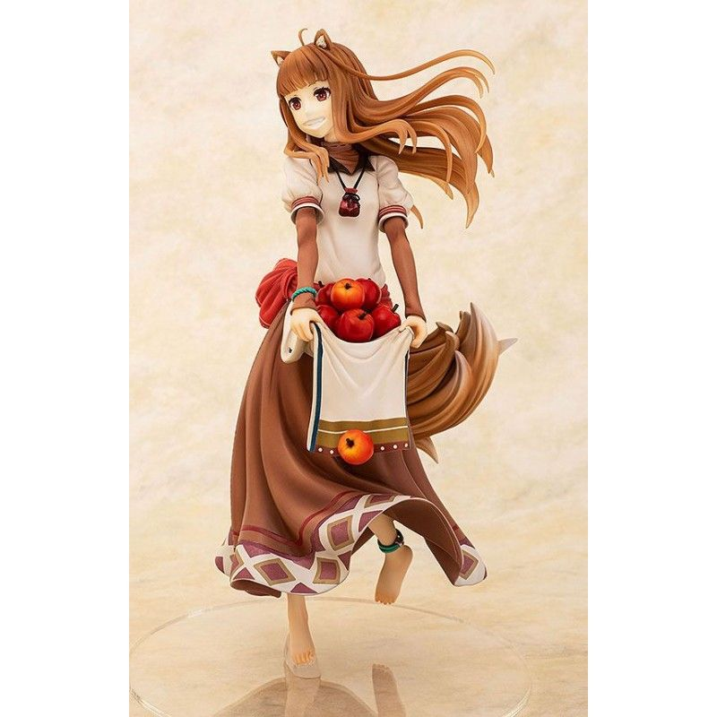 SPICE AND WOLF HOLO PLENTIFUL APPLE HARVEST VER. 1/7 PVC STATUE 23CM FIGURE FIGURE CHARA-ANI
