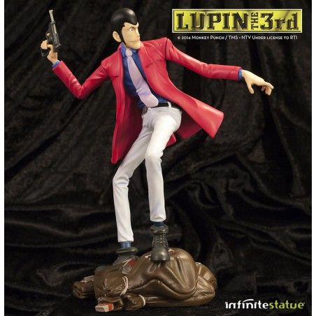 LUPIN III LUPIN STATUE ACTION FIGURE LIMITED EDITION
