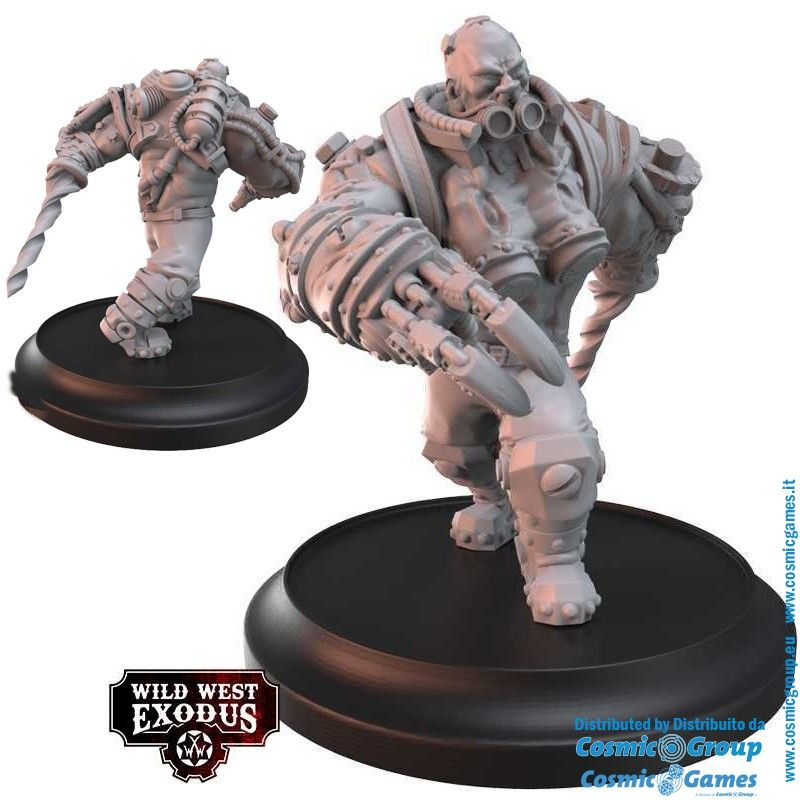 WILD WEST EXODUS GALVANIC MYSTERIES POSSE SET RESIN MINIATURES WARCRADLE STUDIOS