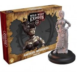 WARCRADLE STUDIOS WILD WEST EXODUS GALVANIC MYSTERIES POSSE SET RESIN MINIATURES