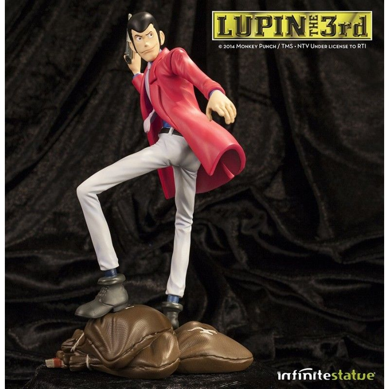 INFINITE STATUE LUPIN III LUPIN STATUE ACTION FIGURE LIMITED EDITION