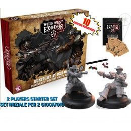 WILD WEST EXODUS GUNFIGHT AT RED OAK STARTER SET RESIN MINIATURES WARCRADLE STUDIOS