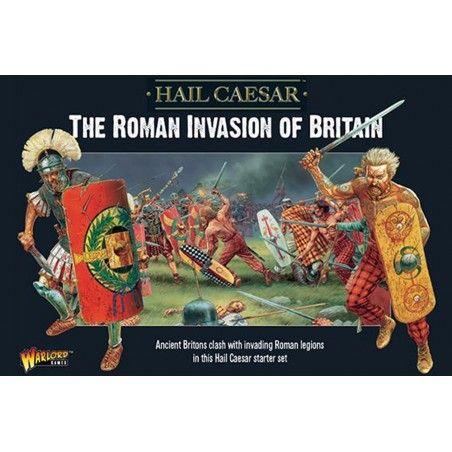 HAIL CAESAR THE ROMAN INVASION OF BRITAIN STARTER SET MINIATURES