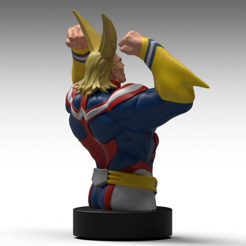 MY HERO ACADEMIA - ALL MIGHT BUST BANK FIGURE SEMIC