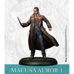 HARRY POTTER MINIATURE ADVENTURE GAME - FANTASTIC BEASTS PRESIDENT PICQUERY AND AUROR MINI RESIN STATUE FIGURE KNIGHT MODELS