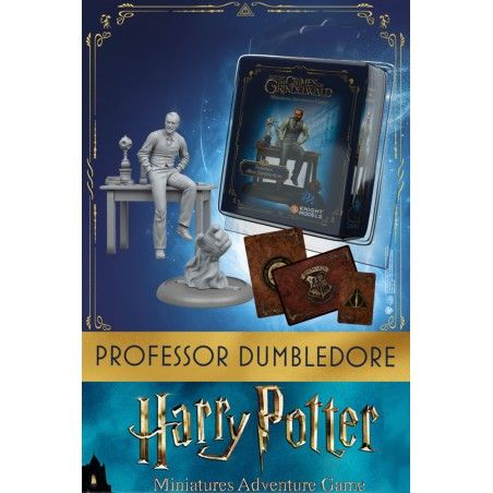 HARRY POTTER MINIATURE ADVENTURE GAME - FANTASTIC BEASTS PROFESSOR ALBUS DUMBLEDORE (JUDE LAW) MINI RESIN STATUE FIGURE