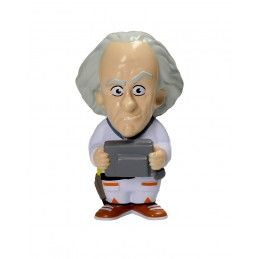 BACK TO THE FUTURE DOC BROWN STRESS DOLL 14 CM FIGURE ANTISTRESS SD TOYS