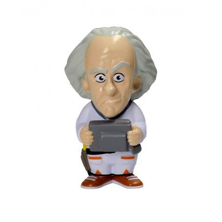 BACK TO THE FUTURE DOC BROWN STRESS DOLL 14 CM FIGURE ANTISTRESS