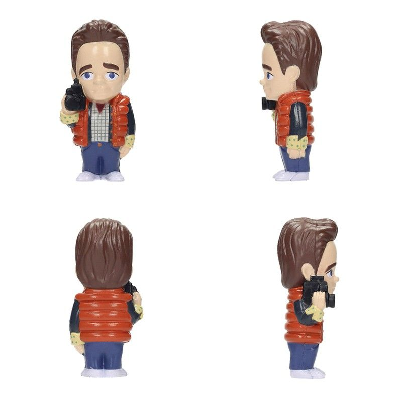 BACK TO THE FUTURE MARTY MCFLY STRESS DOLL 14 CM FIGURE ANTISTRESS SD TOYS