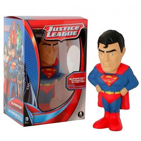 SUPERMAN JUSTICE LEAGUE STRESS DOLL 14 CM FIGURE ANTISTRESS