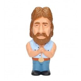SD TOYS INVASION USA TOUGH GUY CHUCK NORRIS STRESS DOLL 14 CM FIGURE ANTISTRESS