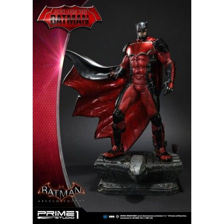 BATMAN ARKHAM KNIGHT - JUSTICE LEAGUE 3000 BATMAN 1/5 RESIN STATUE 49CM FIGURE