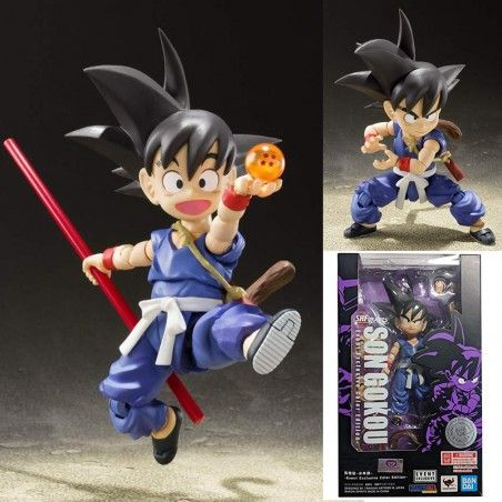 DRAGON BALL SON GOKU KID EVENT EXCLUSIVE COLOR S.H. FIGUARTS ACTION FIGURE