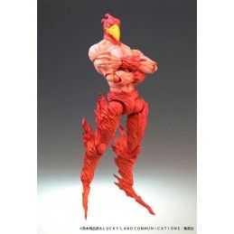 MEDICOS ENTERTAINMENT JOJO BIZARRE ADVENTURE CHOZOKADO MAGICIAN'S RED ACTION FIGURE