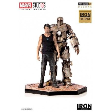 TONY STARK AND IRON MAN MARK I ART SCALE 1/10 20 CM STATUE FIGURE