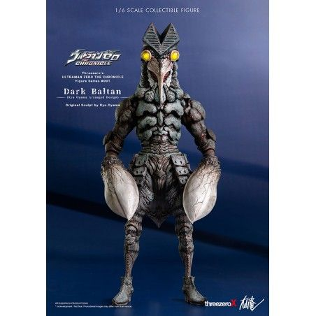 ULTRAMAN CHRONICLE - DARK BALTAN 1/6 SCALE 34 CM ACTION FIGURE