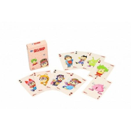 DR SLUMP ARALE POKER PLAYING CARDS MAZZO CARTE DA GIOCO