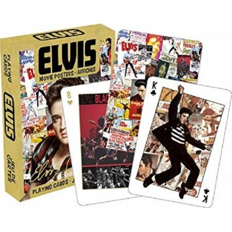 ELVIS PRESLEY MOVIE POSTERS PLAYING CARDS MAZZO CARTE DA GIOCO