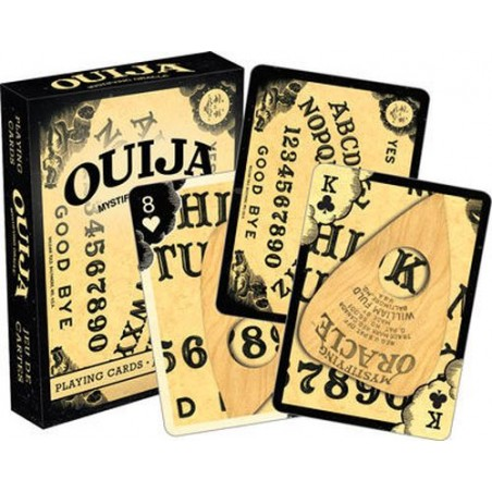 OUIJA POKER PLAYING CARDS MAZZO CARTE DA GIOCO