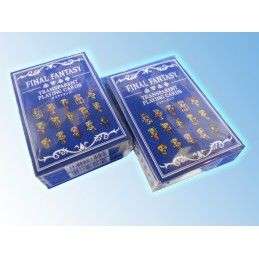 FINAL FANTASY TRANSPARENT PLAYING CARDS MAZZO CARTE DA GIOCO SQUARE ENIX