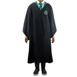 HARRY POTTER WIZARD ROBE TUNICA MAGO SERPEVERDE TAGLIA XS BIMBO CINEREPLICAS