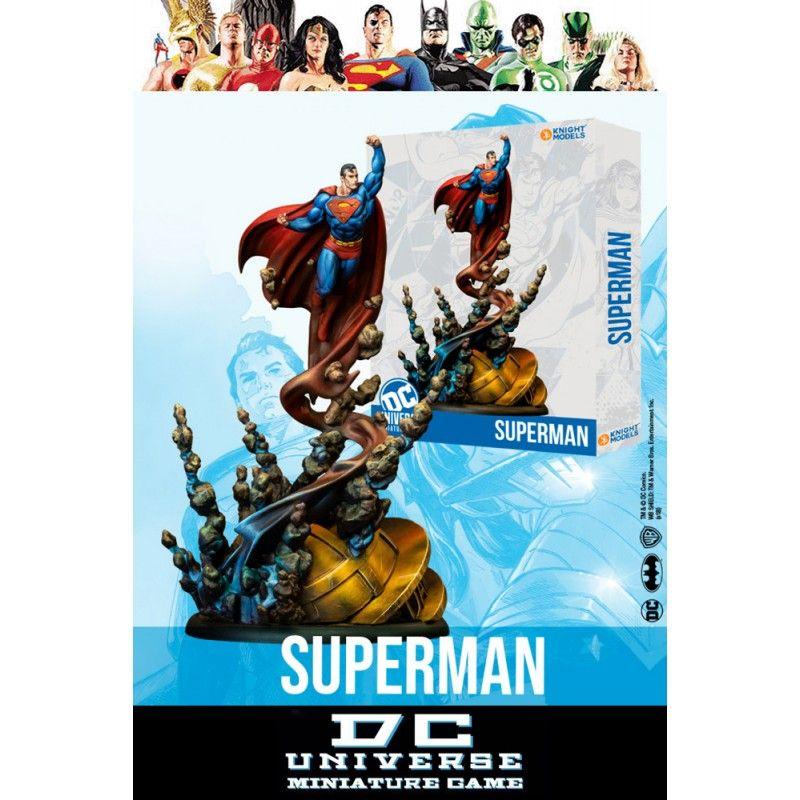 KNIGHT MODELS DC UNIVERSE MINIATURE GAME - SUPERMAN MINI RESIN STATUE FIGURE