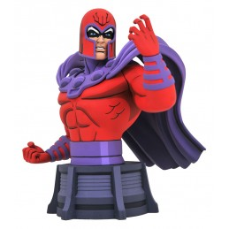 DIAMOND SELECT MARVEL ANIMATED MAGNETO 15CM BUST STATUE FIGURE