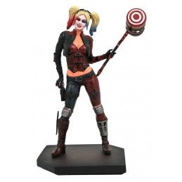 DIAMOND SELECT DC GALLERY INJUSTICE 2 - HARLEY QUINN 23CM FIGURE STATUE