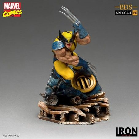 MARVEL COMICS X-MEN WOLVERINE BDS ART SCALE 1/10 STATUE FIGURE