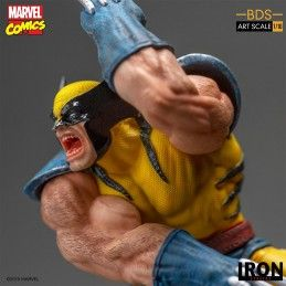 MARVEL COMICS X-MEN WOLVERINE BDS ART SCALE 1/10 STATUE FIGURE IRON STUDIOS