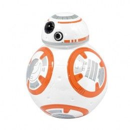 STAR WARS EP7 BB8 MONEY BANK SALVADANAIO IN CERAMICA GIALAMAS