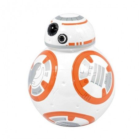STAR WARS EP7 BB8 MONEY BANK SALVADANAIO IN CERAMICA
