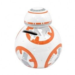 STAR WARS EP7 BB8 COINBANK SALVADANAIO