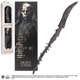 NOBLE COLLECTIONS HARRY POTTER - DEATH EATER PVC WAND REPLICA BACCHETTA
