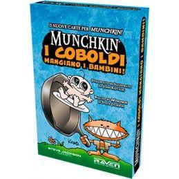 MUNCHKIN I COBOLDI MANGIANO I BAMBINI - GIOCO DA TAVOLO ITALIANO